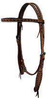 Roughout Browband with buckstitch, natural, also available in Dark. $65.00 www.saddlebarn.com Dark, Natural, Bracelets, Jewelry, Jewlery, Jewerly, Schmuck, Jewels, Jewelery