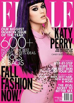 Katy Perry   Elle Magazine September 2012  #