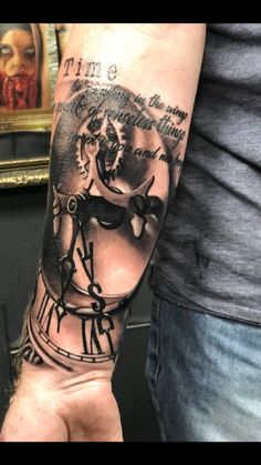 Great tattoo by vlad at revival Blackpool