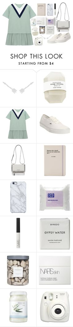 Lite as white by janesabelle on Polyvore featuring Chicnova Fashion, Vans, Givenchy, CZ by Kenneth Jay Lane, Uncommon, NARS Cosmetics, Byredo, Ahava, Jac Vanek and Threshold