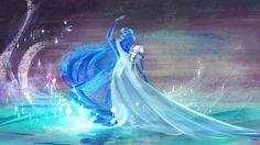 spoilers disney painting oh well anna frozen not sorry the snow queen iPad Art elsa procreate app apparently I'm just as texture happy in procreate as in photoshop