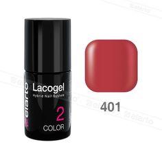 Lakier hybrydowy Lacogel nr 401 - koralowy 7ml #lacogel #elarto #koralowy