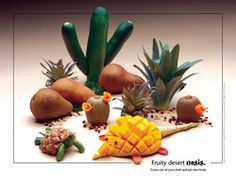 Fruit Oasis Foodscapes® Poster