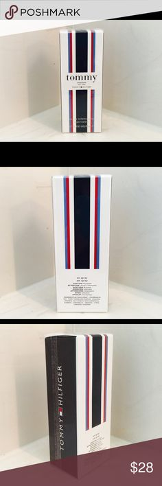Tommy by Tommy Hilfiger men's perfume; cologne NIB Tommy by Tommy Hilfiger men's cologne; perfume spray. Authentic (see photo: bottom of box has bar code/reference #). Brand new, unopened, sealed with plastic wrapping.  Size: 1.7 fl oz (50ml) Tommy Hilfiger Other