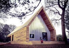 Wolfson Tree Management Centre Mess Building,Courtesy of Invisible Studio