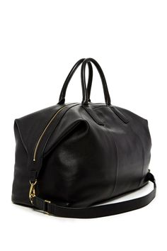 Fossil - Preston Leather Weekend Bag is now 50% off. Free Shipping on orders over $100.