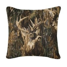 71 best Browning Home Decor images on Pinterest   Browning buckmark     Browning Buckmark Whitetails Camo Square Pillow
