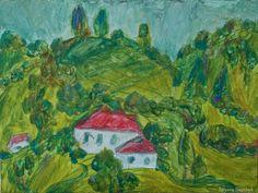 Mountain landscape - Tetyana Snezhyk painting