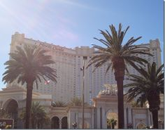 Monte Carlo hotel, Las Vegas.