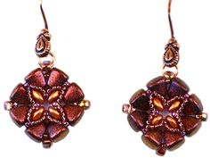 BeadSmith Project Timbuktu Earrings