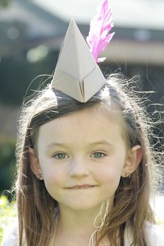 swoon studio: Peter Pan party hats