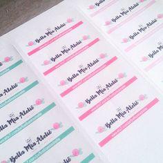 Etiquetando em 3 2 1...   #etiquetas #papelaria #encomendas #produtosartesanais  #tag #tags #stationery #crafts #handmade #papertags