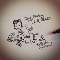 Hajo Notes For Friends, Joy, Birthday, Beach, Fictional Characters, Birthdays, The Beach, Glee, Beaches
