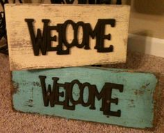 Welcome Sign by IsbellCreations on Etsy