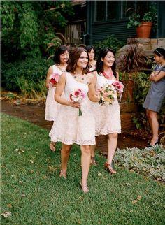 Lace #bridesmaid #dress