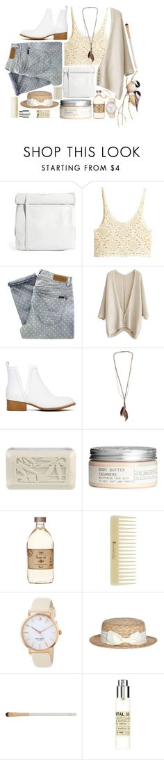 """""""Dots and Lace"""" by strayalley ❤ liked on Polyvore featuring Cheap Monday, H&M, Paul by Paul Smith, Jeffrey Campbell, Dorothy Perkins, Archipelago Botanicals, Kate Spade, Eve Lom, Le Labo and Jennifer Meyer Jewelry"""
