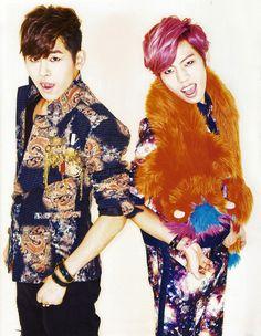 [MAG/SCAN] Infinite H - 10+ Asia Magazine,  Hoya & Dongwoo