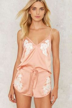 Lavish Alice Made You Blush Satin Pajama Shorts - Lingerie + Lounge Pijama Satin, Satin Sleepwear, Sleepwear & Loungewear, Satin Pyjama Set, Satin Pajamas, Pajama Set, Pajama Party, Pajamas For Teens, Cute Pajamas