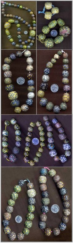 African Trade Beads - Picture Collection 30. A fantastic collection of ancient Indonesian Pelangi / Jatim Beads. The results of over 25 years of collecting by their present owner, an Indonesian bead enthusiast from the USA,who personally bought all of them during the 1970's and up to the mid 1980's.    http://www.africantradebeads.com/Product_Index/Bead_Pics/BP25/BP26/BP27/BP28/BP29/BP30/bp30.html