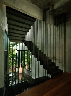 Stairs, House in Selangor, Malaysia by ArchiCentre Interior Stairs, Interior Architecture, Staircase Architecture, Room Interior, Küchen Design, House Design, Design Ideas, Loft Industrial, Boffi