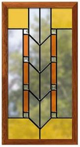 Prairie Style Panel Project - Large Stained Glass Projects At ...