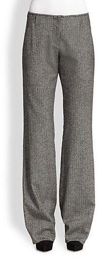 Alice + Olivia Hart Loose-Fit Tweed Pants on shopstyle.com