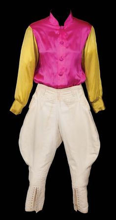 "Elizabeth Taylor ""Velvet Brown"" racing silks and riding pants from National Velvet"