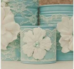 cute DIY for wedding centerpieces