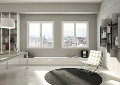 Solide e versatili: le finestre in PVC. https://www.homify.it/librodelleidee/159412/solide-e-versatili-le-finestre-in-pvc