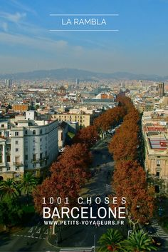 BALADE - Grand classique de Barcelone, la Rambla est une avenue qui s'apprécie d'autant plus vue d'en haut. Au sommet du monument de Colon par exemple !
