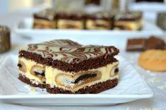 Romanian Desserts, Romanian Food, Bakery Recipes, Cookie Recipes, Dessert Recipes, Pastry Cake, Sweet Tarts, Ice Cream Recipes, Chocolate Recipes