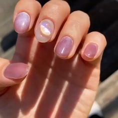 Blush Pink Nails, Pink Nail Colors, Pink Nail Art, Purple Nails, Gel Nail Art, Art Nails, Square Acrylic Nails, Fall Acrylic Nails, Oval Nails