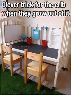 Repurpose crib