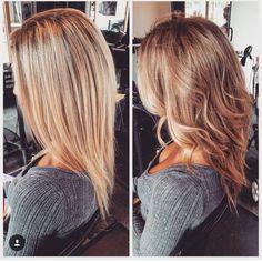 « #bronde #bayalage #pureformsalon #yyc #yychair #yychairstylist #hairstylist #pinteresthair #fiidnt #goodhair #modernsalon #behindthechair… »
