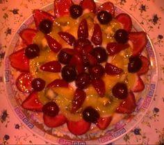 Crostata alla crema pasticcera e Frutta fresca