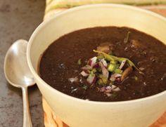 Cuban Black Bean and Potato Soup