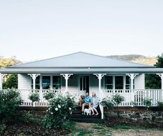 From weatherboard cottages to regal estates, be inspired by our pick of the top country home exteriors. Country Home Exteriors, Country Style Homes, House Exteriors, Weatherboard House, Queenslander, Country Style Magazine, Riverside Cottage, Timber Cabin, Eco Cabin