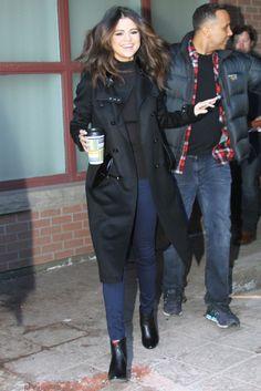 Selena Gomez Street Style – Park City, January 20 2014