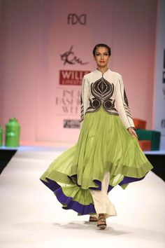 Ekru by Ekta & Ruchira - WIFW Autumn Winter 2013