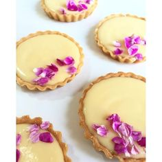 Perfect Lemon Tarts for the counter - Sundays at Lily Vanilli Bakery located in Columbia Road, Cakes, Coffee