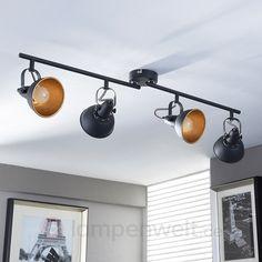 Wohnzimmer Design Spotleiste Deckenstrahler Deckenlampe Esszimmer Küche Lampe Deckenleuchten Büro & Schreibwaren