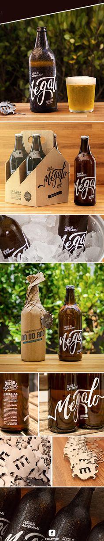 Megalo Beer on Behance