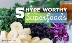 These superfoods are much more than just buzzwords 💪
