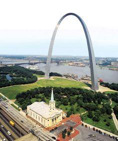 Gateway Arch, St. Louis. #St.Louis #Missouri