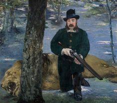 Édouard Manet - Portrait de M. Pertuiset, le chasseur de lions