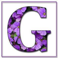 "Free Scrapbook Alphabet Letters ""Purple Flowers"" in JPG & PNG For this project I used my own alphabet ""A,"" a Photoshope font, and a backg. Flower Alphabet, Alphabet Art, Monogram Alphabet, Alphabet And Numbers, Purple Love, All Things Purple, Shades Of Purple, Purple Flowers, Purple Rain"