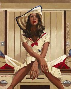 Jack Vettriano Below Deck II