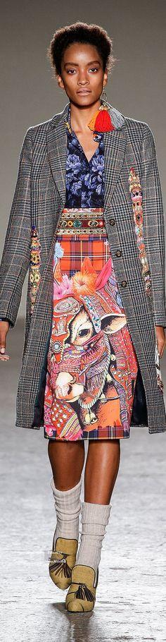 Stella Jean Fall/Winter 2015-2016. She has AMAZING designs. LUV Stella Jean<3<3<3