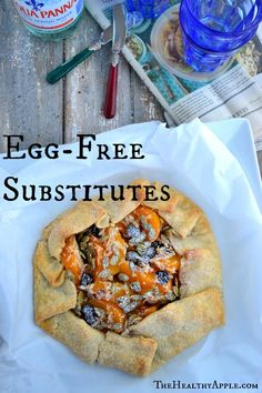 Egg-Free Substitutes - The Healthy Apple Healthy Recipes For Weight Loss, Healthy Foods To Eat, Real Food Recipes, Healthy Eating, Uk Recipes, Healthy Treats, Easy Recipes, Elimination Diet Recipes, Food Hacks