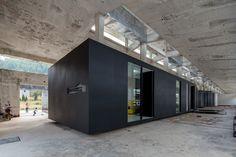 Gallery of Z Gallery / O-OFFICE Architects - 5 loft oudnieuw binnenbuiten paviljoen concept diy meubel